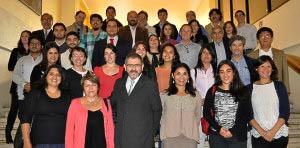 Participantes del Curso-Taller sobre Valoración Económica Total del Gran Ecosistema Marino de la Corriente de Humboldt