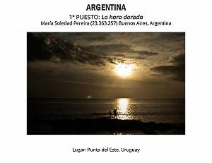 ARGENTINA: 1º puesto