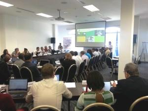 Reunión de los participantes Taller sobre Evaluación de Poblaciones y Gestión de langosta común del Caribe (Panilurus argus)