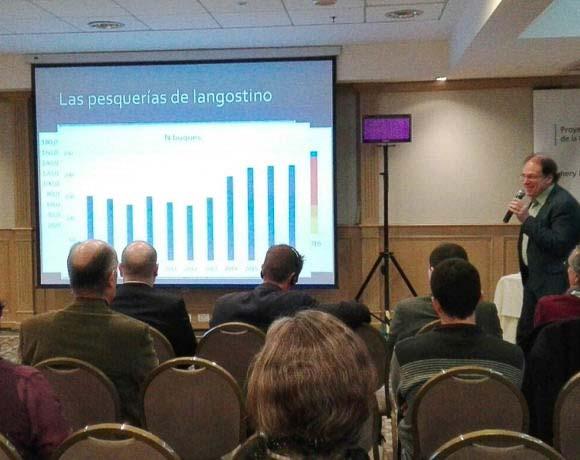 Importantes distribuidores globales de langostino argentino se dan cita en Buenos Aires