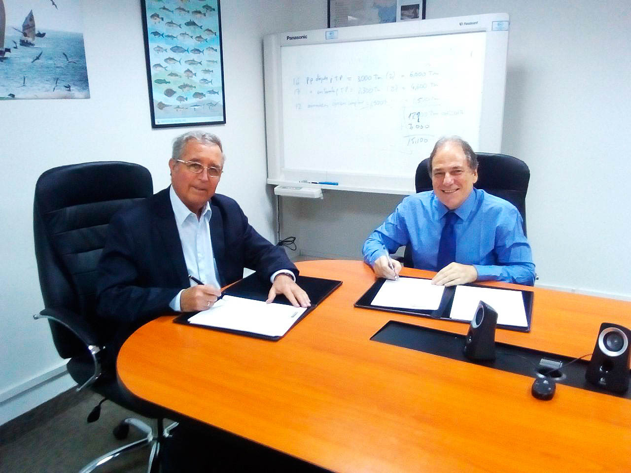 Se firma Acuerdo de Cooperación PRODUCE-CeDePesca