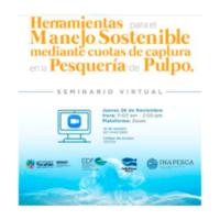 CEDEPESCA-MÉXICO: Webinar sobre sistema de cuotas para la pesquería de pulpo